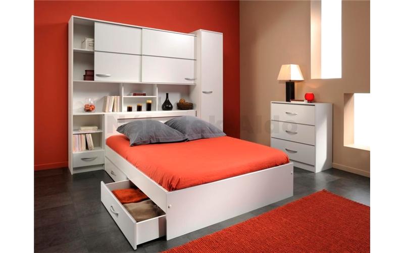 Детские кровати с предусмотренным местом для шкафа Ремонт это легко