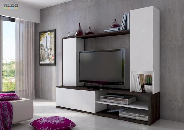 23b24c3dfbb51 Moderné obývacie steny sa vyznačujú ako netradičnou kombináciou materiálov  a farieb, tak aj minimalistickým prevedením. Pokiaľ si zaobstaráte výraznú  ...
