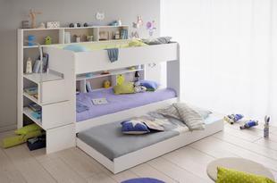 45529689627e Detská poschodová posteľ Swan - 3 osoby