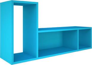 7af11cca7407 Závesná polica do detskej izby B - modrá