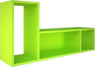 a046486821cc Závesná polica do detskej izby B - zelená