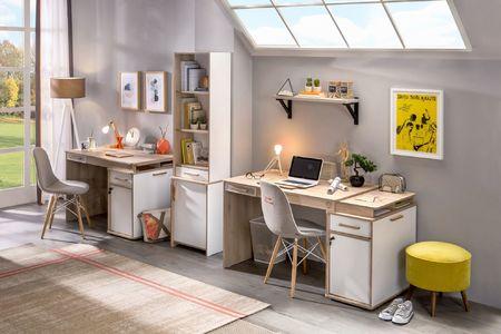 fd631cf994b0 ... k písacím stolom a regálom zaobstaráte v identickom dizajne tiež detské  postele